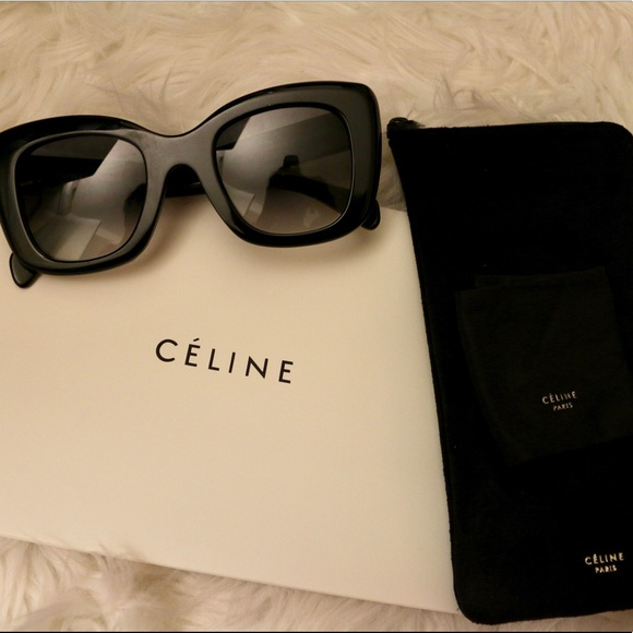 cb36f00af968e ... Celine Accessories Oversized Square Sunglasses Poshmark